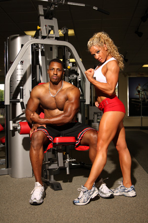 muscle woman sex: